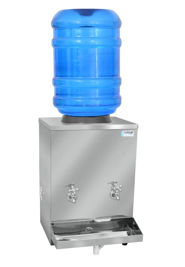 Bebedouro Industrial Beloar de Galão Bancada  20 Litros 2 Torneiras