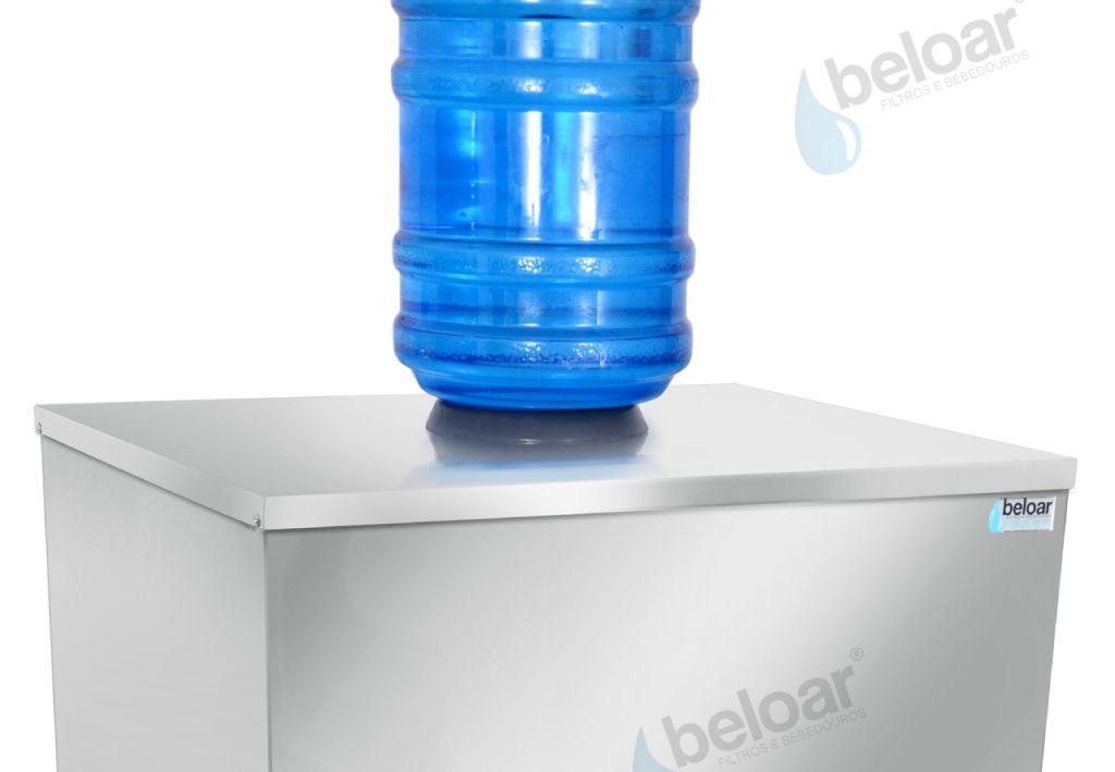 Bebedouro Industrial de Galão Coluna 200 Litros