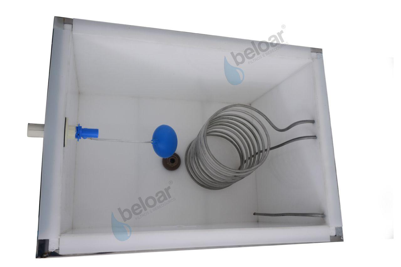 Bebedouro Industrial Beloar Suspenso Central de Água 200 Litros