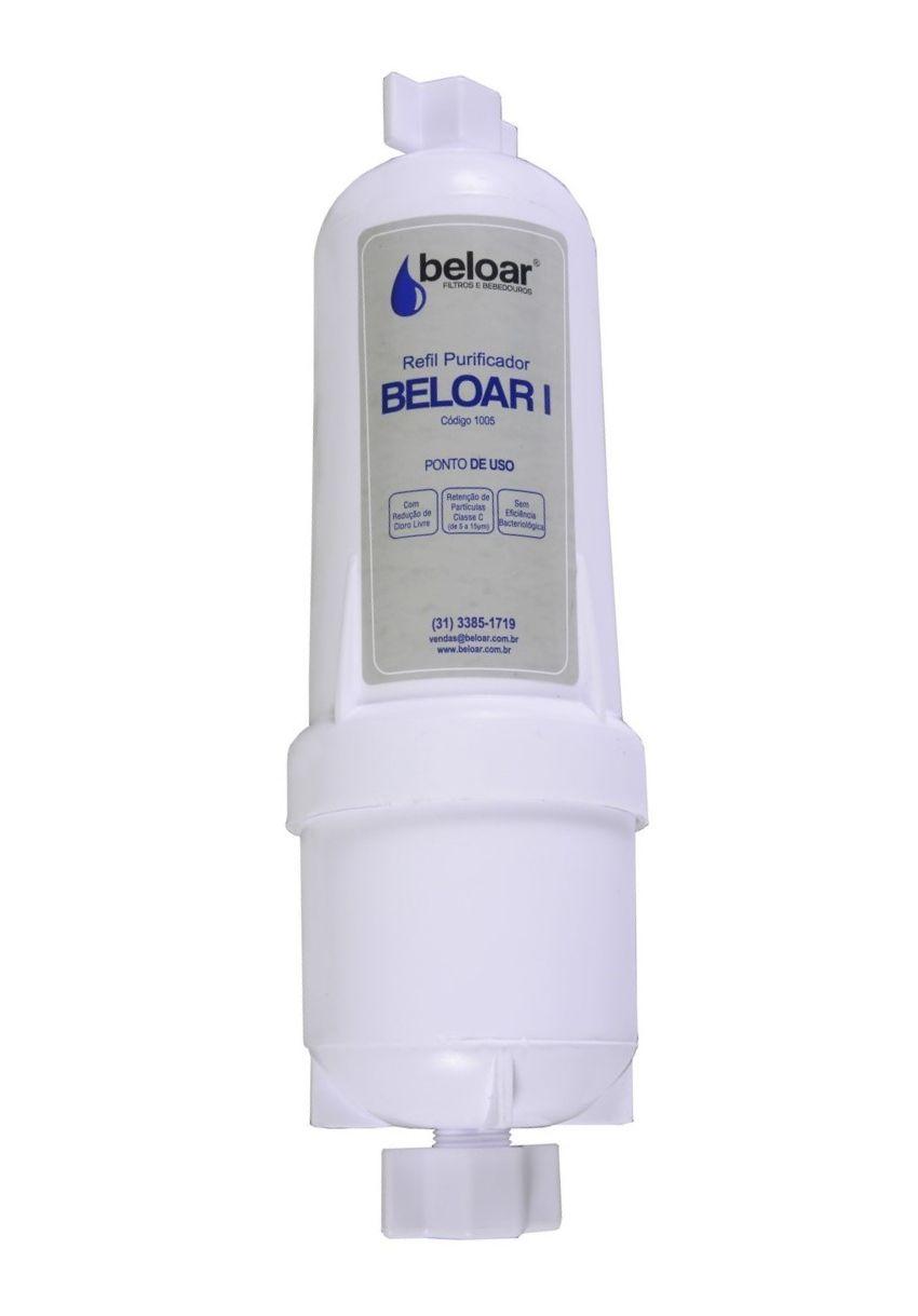 Filtro Beloar 1 – Elemento Filtrante Carvão Ativado para purificadores BELOAR