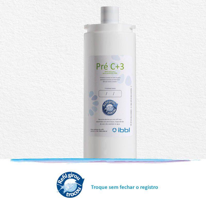 Filtro IBBL C+3 - Elemento Filtrante Carvão Ativado para purificadores IBBL