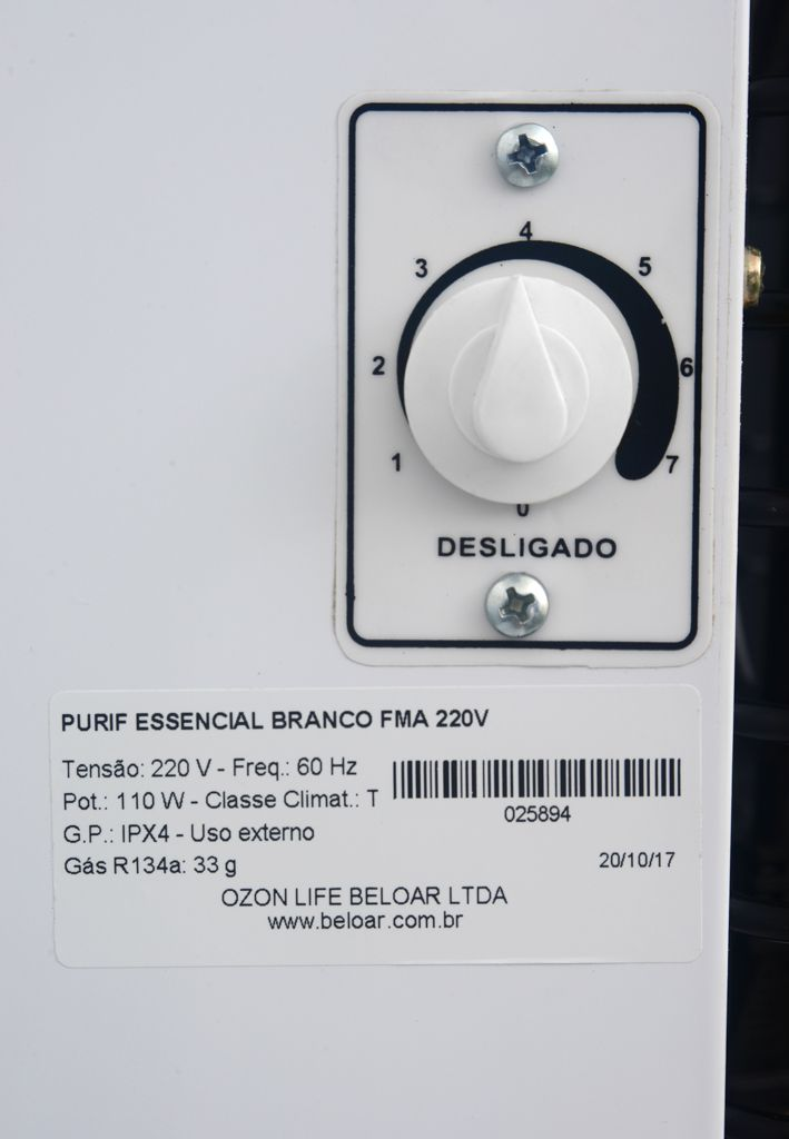 Purificador De Agua Beloar Ice Mini Branco