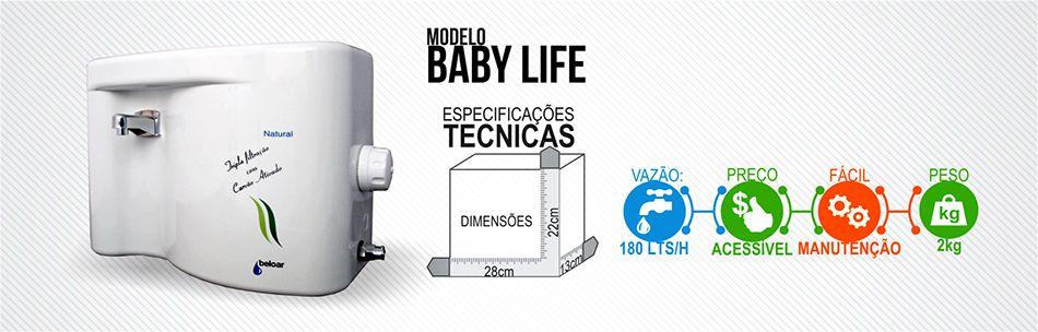 Purificador  de agua BELOAR BABY LIFE