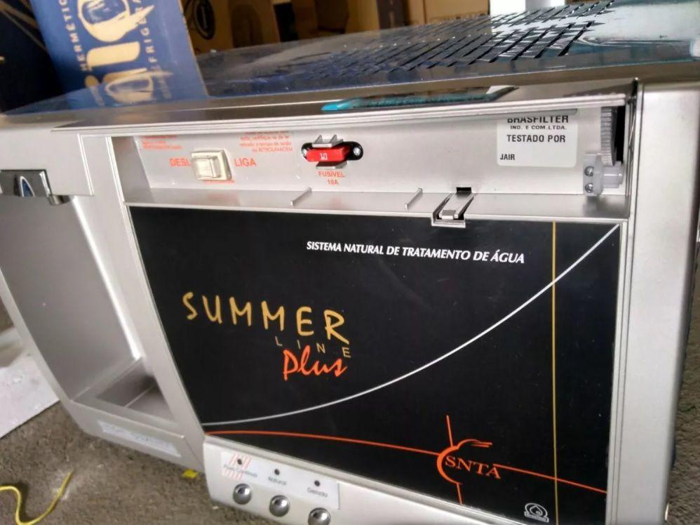 Purificador Summer Line Snta Plus - Inox