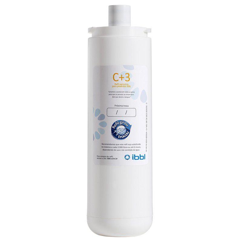 REFIL C+3 para Purificador de Água