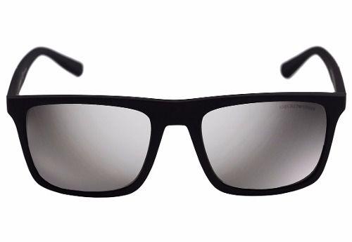 Óculos De Sol Emporio Armani Ea4097 5042/z3 Polarizado Preto Fosco Tam 5,6cm
