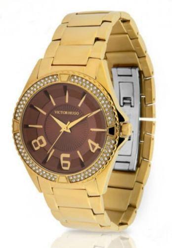 Relógio Victor Hugo Feminino Quartz Vh10142lsg/12m