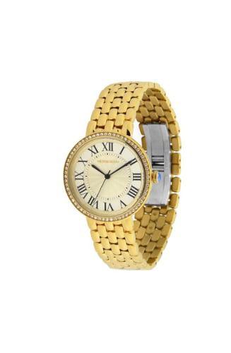 Relógio Victor Hugo Feminino Dourado Ref. Vh10136lsg/54m