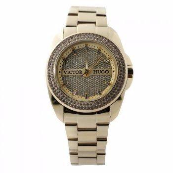 Relógio Victor Hugo Feminino Quartz Vh10103lsg/22m