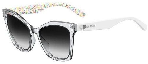 Óculos De Sol Love Moschino Feminino Mol002/s 9009O 54-17 Cristal