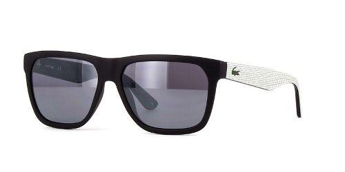 Óculos De Sol Lacoste L732s 002 56-15 Preto Fosco