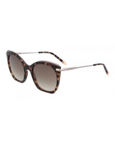Óculos De Sol Feminino Calvin Klein Ck1238s 214