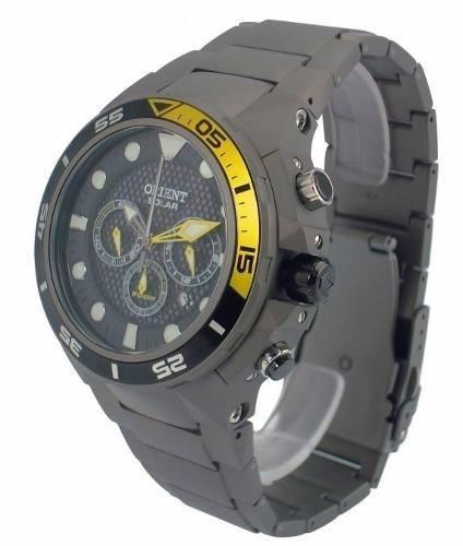 Relógio Orient Sea Tech Titanium Solar Mbttc014 P1gx