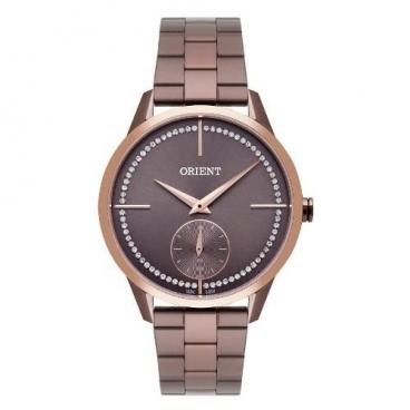 Relógio Feminino Orient Ftss0061 N1nx Marrom