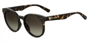 Óculos De Sol Love Moschino Feminino Mol003/s 086ha 53-19 Dark Havana