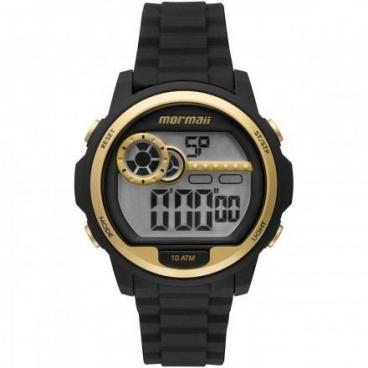 Relógio Mormaii Masculino Mo1462a/8d Pulseira de Silicone