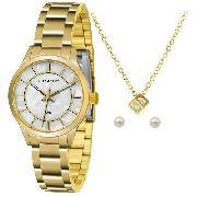 Kit Relógio Lince Feminino Lrgh072l Ku34