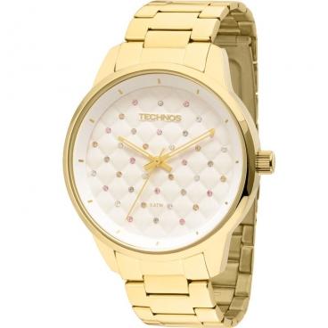 Relógio Technos Fashion Trend Feminino 2035LXU/4K Dourado