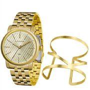 Kit Relógio Feminino Lince Lrg4513l Ku66