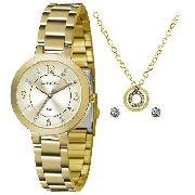 Kit Relógio Feminino Lince Lrg4516l Ku72