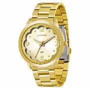 Relógio Lince Lrg4281l C2kx Dourado