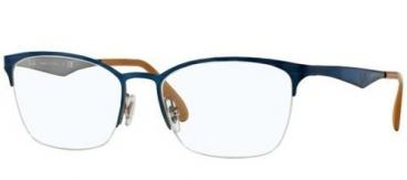 Armação De Óculos Ray-ban Rb6345 2865 52-17 135