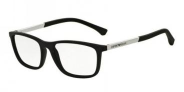 Armação  Óculos De Grau Empório Armani Ea3069 5063 55