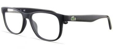 Armação Óculos De Grau Lacoste L2743 004 52-16 Preto Fosco