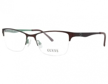 Armação De Óculos Guess Gu2503 049 52-17 135