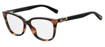 Armação De Óculos De Grau Love Moschino Feminino Mol513 086