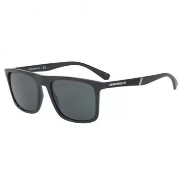 Óculos De Sol Empório Armani Ea4097 5017/87 Preto Brilho