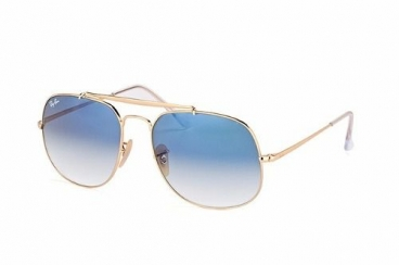 Óculos Solar Ray Ban Rb3561l 001/3f 57-17 145 General