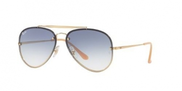 Óculos Solar Ray-Ban Rb3584-n 001/19 61-13 145 Aviador Flat