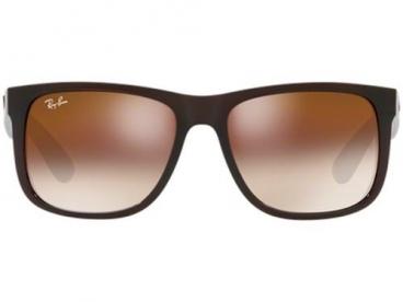 Óculos De Sol Ray-Ban Rb4165L Justin 714/S0 55 Marrom