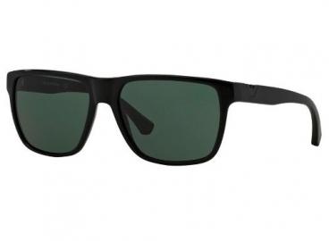 Óculos De Sol Emporio Armani Ea4035 5017/71 Preto Brilho
