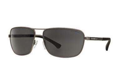 Óculos De Sol Empório Armani Ea2033 3130/87 64-15 Cinza