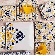 Aparelho de Jantar Sevilha 30 peças Oxford Porcelanas