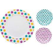 Conjunto Para Bolo 7 Peças Dots Oxford Porcelanas