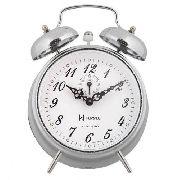 Relógio Despertador H Herweg 2380 Cromado Picoteado