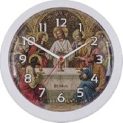 Relógio Parede Herweg Santa Ceia Marfim 6697