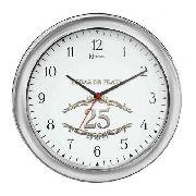 Relógio Parede Herweg Bodas De Prata 6636 028