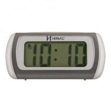 Relógio Despertador Digital Luz de Led Herweg 2916 071