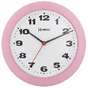 Relógio Parede Herweg Rosa Baby 6103 036