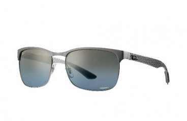 Óculos Solar Ray Ban Rb8319-ch 9075/jo 60-18 Polarizado