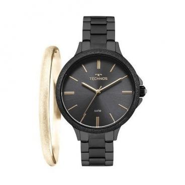 Kit Relógio Technos Fashion 2035mmd/k4p