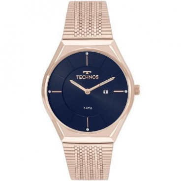 Relógio Technos Rosé Feminino Fashion Trend Gl15aq/4a