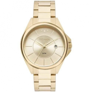 Relógio Technos Dourado Feminino Elegance Dress 2115moo/4x