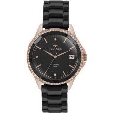 Relógio Technos Rosé E Preto Feminino Ceramic 2315kzr 4p 2bf6546072