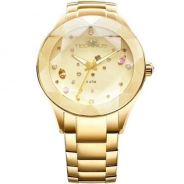 Relógio Feminino Technos Dourado Elegance 2039atdtm/4x
