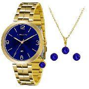 Kit Relógio Feminino Lince Lrg4458l Kt69